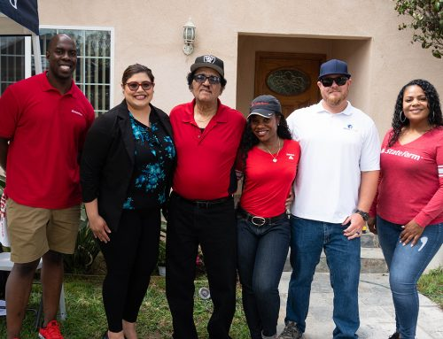 HomeStrong USA and State Farm Team Up To Help U.S. Army Veteran in Inglewood, CA