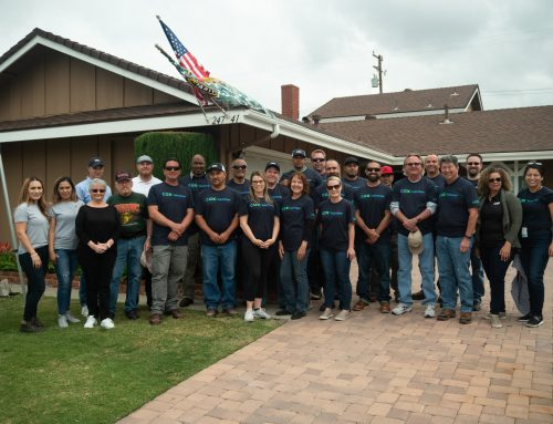 Helping a veteran in Lake Forest
